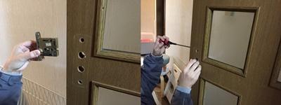 ドア取っ手交換